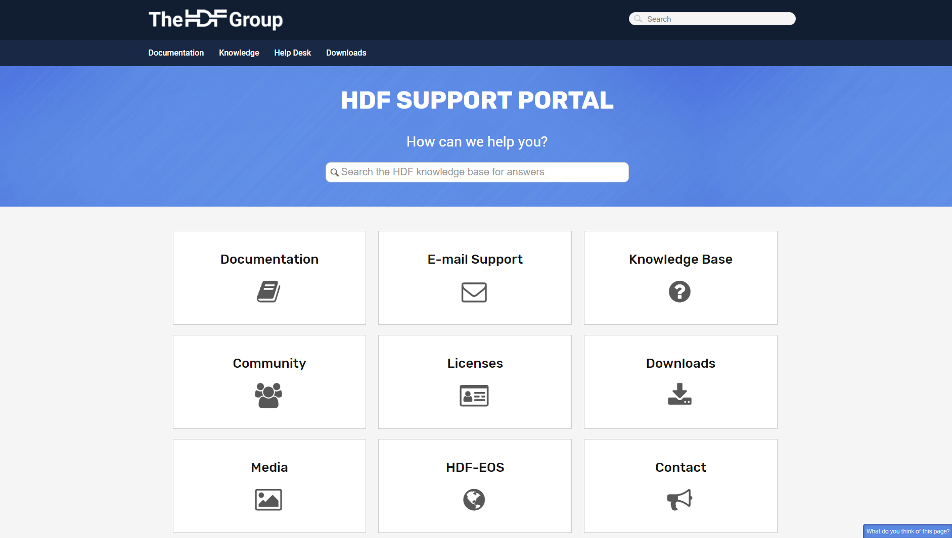 portal - The HDF Group
